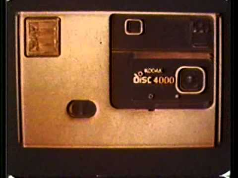 kodak - A 1982 television ad for Kodak's Disc Camera.