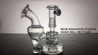 420 Science Bear Mountain Studios Nano Bell Recycler Slow Motion by 420 Science Club