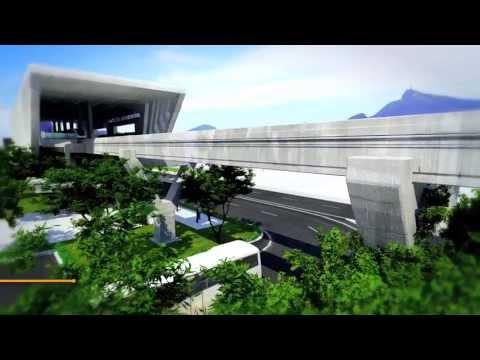 Vídeo Linha 3 - Monotrilho - Niterói-São Gonçalo
