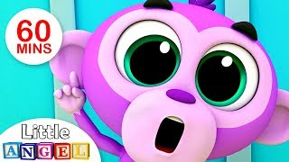 """Video """"No No"""" Good Manners Song, Jungle Animals Peek-a-Boo, Itsy Bitsy & more Kids Songs by Little Angel MP3, 3GP, MP4, WEBM, AVI, FLV September 2019"""