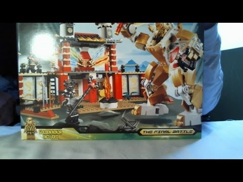 Temple of light - lego ninjago set 70505 - time-lapse build, unboxing