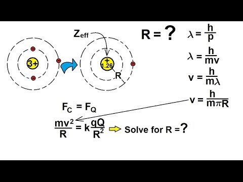 Chemistry - Periodic Variations (8.5 of 23) The Effective Nuclear Charge - Ex 2 (Re-Post)