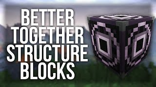 How To Use Structure Blocks in Minecraft Windows 10 Edition