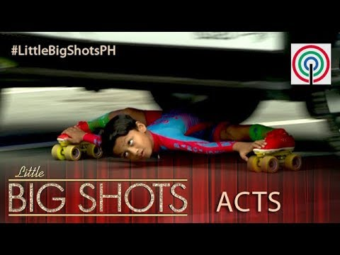 Little Big Shots Philippines: Gagan   8-year-old Limbo Skater