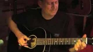 Thumpin' The Blues - Acoustic Guitar Instrumental