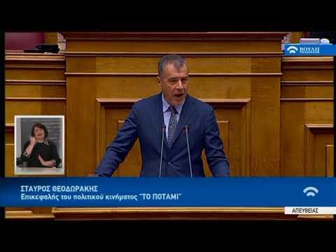 Σ.Θεοδωράκης (Επικεφαλής ΠΟΤΑΜΙ)(Προϋπολογισμός 2018) (19/12/2017)
