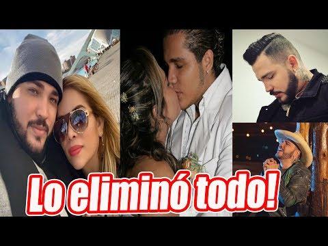 Fotos de amor - Sandra Barrios borró las fotos de Jessi Uribe en instagram