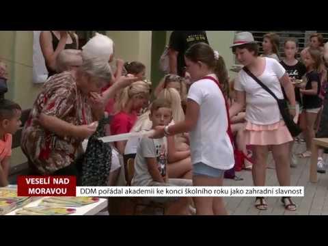TVS: Veselí nad Moravou - Zahradní slavnost DDM zakončila školní rok