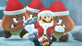 Nonton Super Mario Odyssey   Santa Outfit Gameplay  Dlc Showcase  Film Subtitle Indonesia Streaming Movie Download