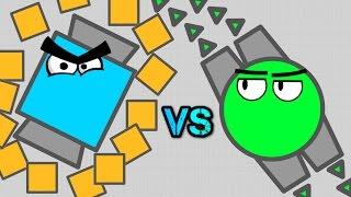 DIEP.IO NECROMANCER vs BATTLESHIP!! // Best Drone Tank // Bett...