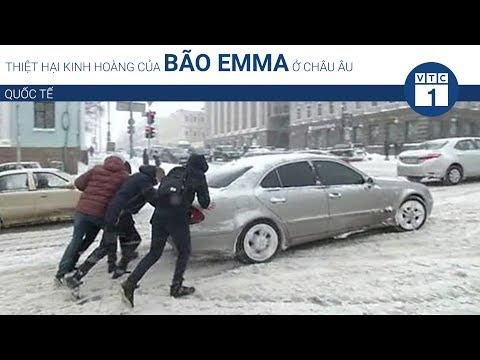 Thiệt hại kinh hoàng của bão Emma ở châu Âu | VTC1 - Thời lượng: 76 giây.