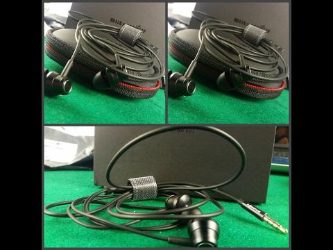 BlitzWolf BW ES1. Якісні провідні навушники з керуванням гучності. Посилка з Banggood.