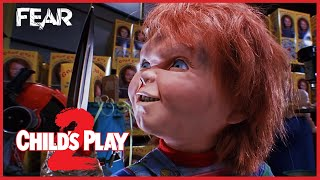 Download Video Chucky Gets His Arm Ripped Off | Child's Play 2 MP3 3GP MP4