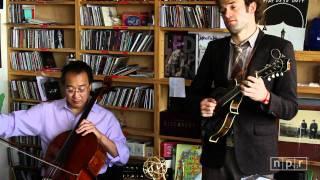 YoYo Ma Edgar Meyer Chris Thile And Stuart Duncan NPR Music Tiny Desk Concert