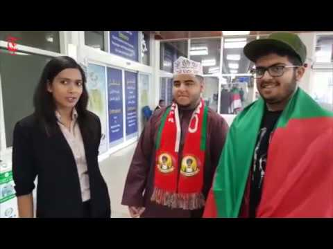 Times of Oman's very own Shruthi Nair caught up with fans who were boarding flights to Kuwait City at Muscat International Airport.