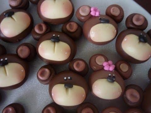 porcelanicron - http://elrinconmagicodelasmanualidades.blogspot.com/ https://www.facebook.com/ManualidadesHormiga?ref=hl apliques de porcelana fria para decorar los moños pa...