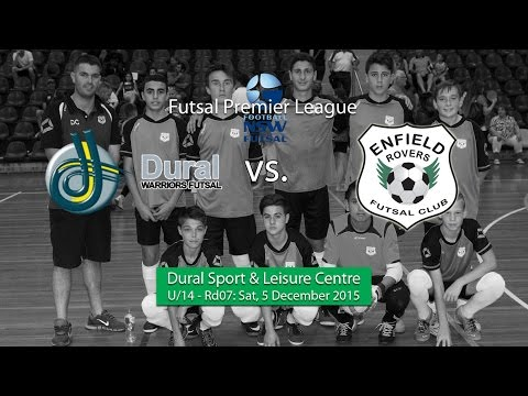Rd07: U/14 Enfield Rovers (2015-16 FNSW Futsal Premier League)