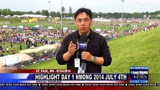 Suab Hmong News:  HIGHLIGHT Day One of Hmong July 4th Event in St. Paul, MN