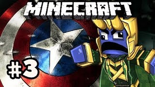 CAPTAIN CITY - Minecraft: Asgard Captain America SPECIAL w/Nova&Kootra Ep.3