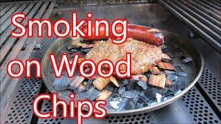 Wood chip pile smoked hamburger by Louisiana Cajun Recipes