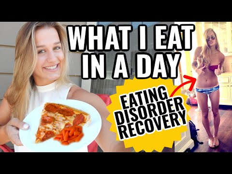 WHAT I EAT IN A DAY (Intuitive Eating/Eating Disorder Recovery)