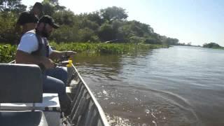 Pescaria No Pantanal : 1° Dia