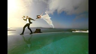 Χειμωνιάτικος Γάμος στη Σαντορίνη
