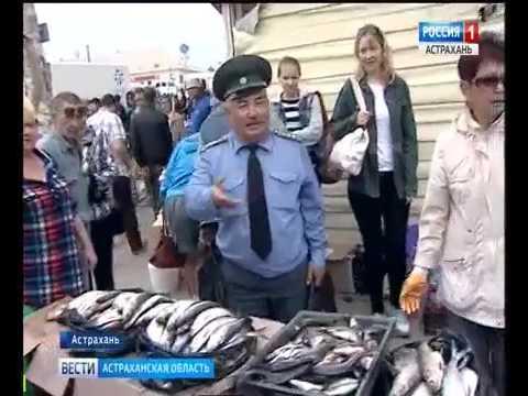О пресечении несанкционированной торговли рыбной продукцией в Астраханской области