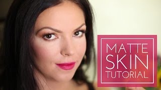 Matte skin is replacing the dewy trend from spring and summer. Using just one product you can matte-ify your look. -----------------------------------------------------------CONNECT WITH ME-----------------------------------------------------------facebook: http://www.facebook.com/Always-Blushingblog: http://www.alwaysblushing.com/