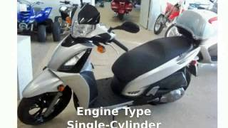 4. 2013 KYMCO People GT 300i - Walkaround and Info