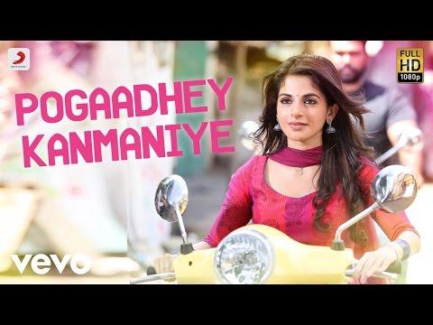 Veera - Pogaadhey Kanmaniye Tamil Lyric | Leon James