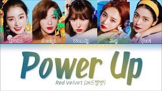 RED VELVET (레드벨벳) - 'POWER UP' Lyrics (Color Coded Eng/Rom/Han/가사)