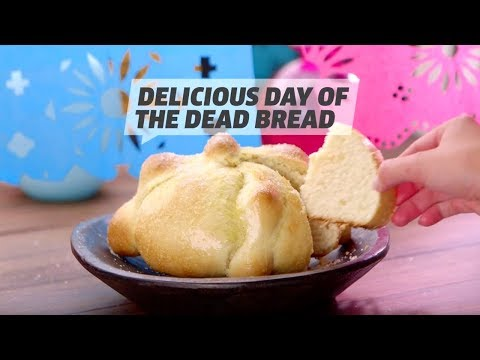 How To Make Delicious Day Of The Dead Bread