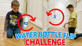 Video WATER BOTTLE FLIP CHALLENGE FR 💦 | Swan VS Néo MP3, 3GP, MP4, WEBM, AVI, FLV Oktober 2017