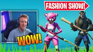 Video *ANIMALS* Fortnite Fashion Show! FIRE Skin Competition! Best DRIP & COMBO WINS! (8/8) download in MP3, 3GP, MP4, WEBM, AVI, FLV January 2017
