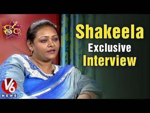 Shakeela exclusive interview  V6 Taara 01032015