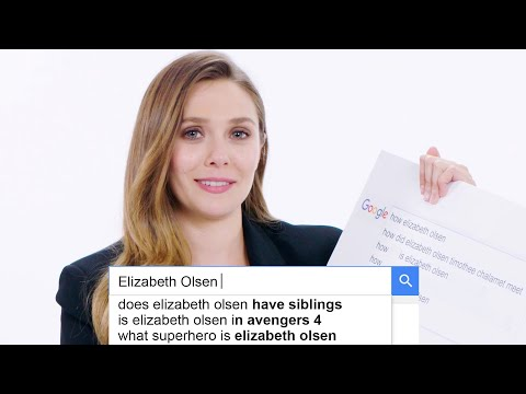 Elizabeth Olsen Answers the Internet s Most Searched Questions About