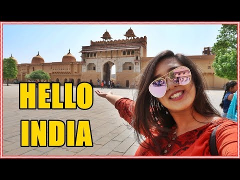HELLO INDIA | EPISODE 1 | KICHHY VLOGS