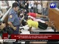 98, apprehended in Las Piñas for violation of curfew and other ordinances