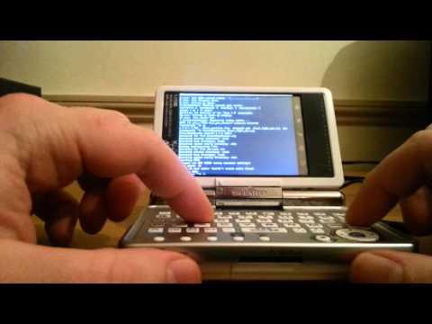 Arch Linux ARM on the SHARP Zaurus SL-C3000
