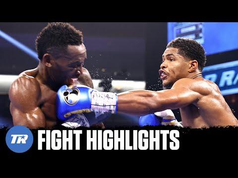 Shakur Stevenson Scores 1 Knockdown, Dominates Jeremiah Nakathila | FIGHT HIGHLIGHTS