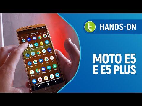 Tudocelular - Surpresa! Motorola apresenta Moto E5 e E5 Plus, que chegam em breve ao Brasil