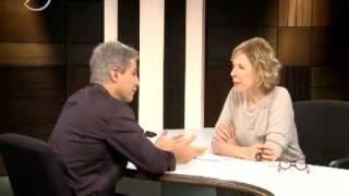 Edson no programa Marilia Gabriela Entrevista.