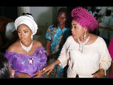Sola Kosoko came out to dance with her sister, Bidemi Kosoko at her baby naming ceremony
