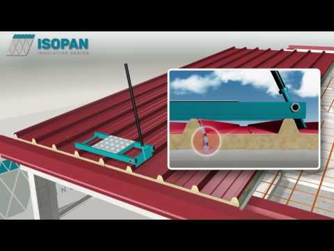 Phương pháp thi công mái panel pu và panel eps