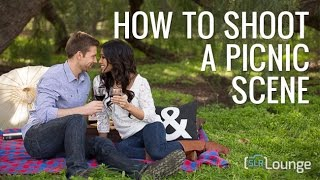How To Shoot an Engagement Shoot Picnic Scene | Natural Light Couples Photography Workshop