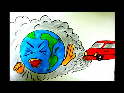 Download Save Water Coloring Drawing Step By Step For Kids Save