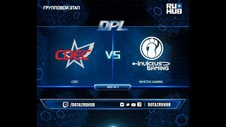 CDEC vs Invictus Gaming, DPL 2018, game 2 [Lex, 4ce]