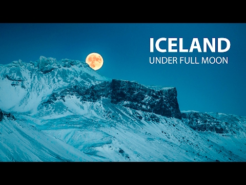 Islanti on todella taianomainen paikka – Iceland under Full Moon
