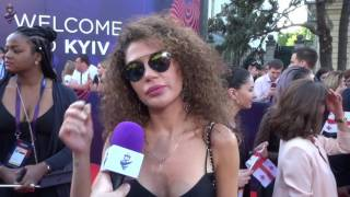 Video Eurovision 2017 - Red carpet - Georgia - Tamara Gachechiladze MP3, 3GP, MP4, WEBM, AVI, FLV Juli 2017